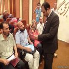 المدرب الخمسان يتألق مع الجرافولوجي ببورسعيد